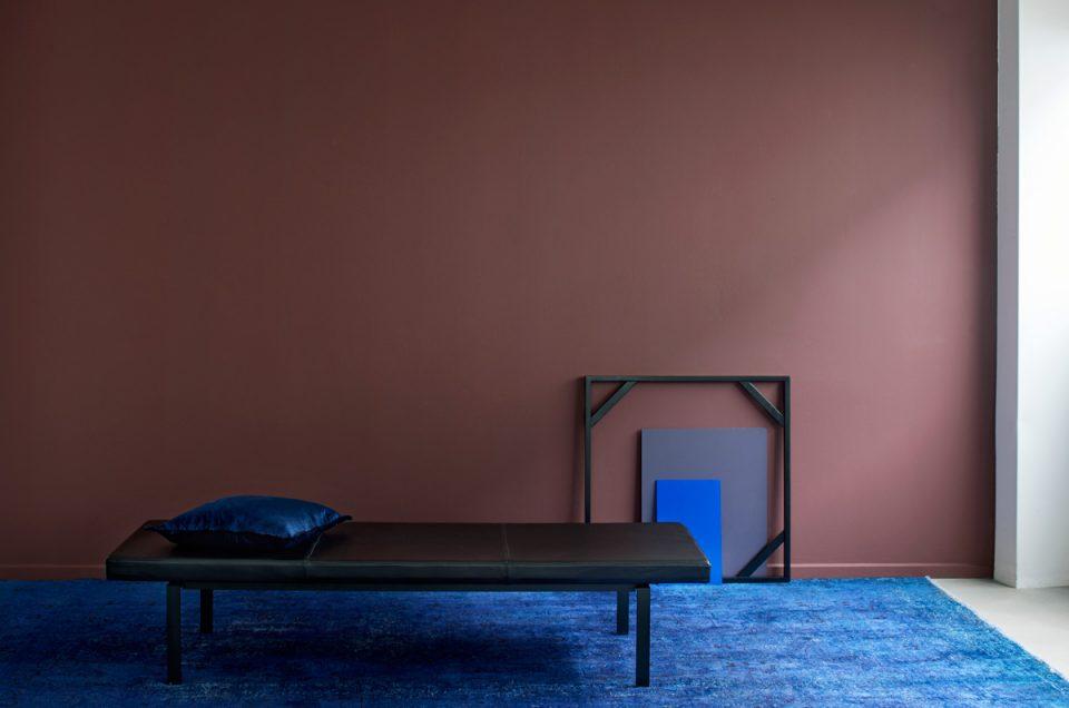 Ren minimalisme i studiet